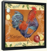 LW-Rooster Heritage -Canvas Art Print