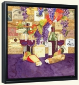 LW-Bordeaux -Canvas Art Print