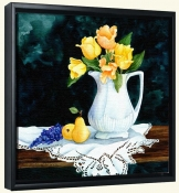 Pitcher with Tulips   -Canvas Art Print
