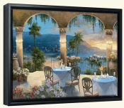 TC-Amalfi Holiday I -Canvas Art Print