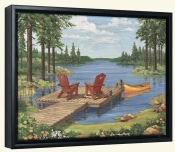 PB-Lakeside II -Canvas Art Print