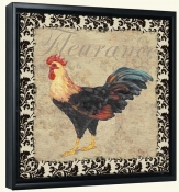 PB-Bergerac Rooster XII -Canvas Art Print