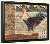 PB-Good Morning Rooster -Canvas Art Print