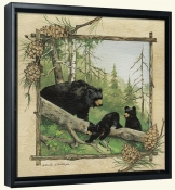 AP-Black Bears -Canvas Art Print