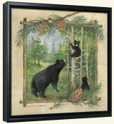 AP-Bear Family -Canvas Art Print
