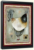 French Rooster IIII-JG-Canvas Art Print