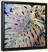 Philodendron Leaf   -Canvas Art Print