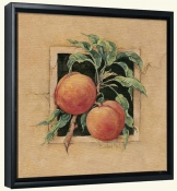 BM-Peach-Canvas Art Print