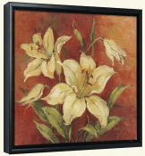 Crimson Lilies I-BM-Canvas Art Print