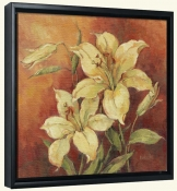 Crimson Lilies II-BM-Canvas Art Print