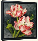 Pink Tulips-BM-Canvas Art Print