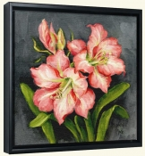 Starburst Lily Pair-BM-Canvas Art Print
