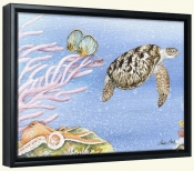 Sea Turtle II   -Canvas Art Print
