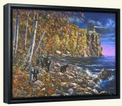 North Shore Visitors-JH-Canvas Art Print