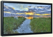 Captiva Sunset-SA-Canvas Art Print