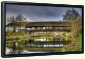 Covered Bridge-SA-Canvas Art Print