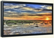 Everglades Sunset-SA-Canvas Art Print