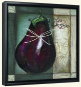 JG-Les Aubergine-Canvas Art Print