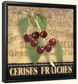 AW-Fresh Cherries-Canvas Art Print