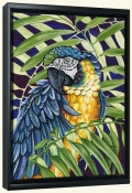 Blue and Yellow Macaw-DF-Canvas Art Print