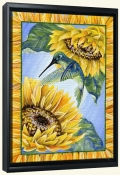 Summers Humming-DF-Canvas Art Print