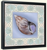 Seashell Square 2-DF-Canvas Art Print