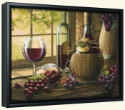 Wine by the Window I-JS-Canvas Art Print