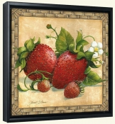 JS-Strawberries-Canvas Art Print