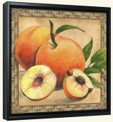JS-Peaches-Canvas Art Print