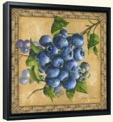 JS-Blueberries-Canvas Art Print