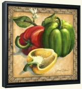 JS-Bell Peppers-Canvas Art Print