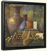 Cheese and Grapes I-JS-Canvas Art Print