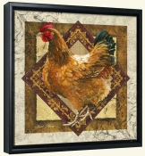 JS-Mother Hen-Canvas Art Print