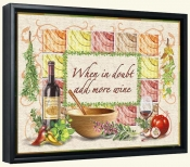 Add More Wine-RS-Canvas Art Print