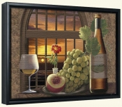 Pinot Noir at Sunset-RS-Canvas Art Print