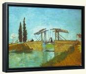 Bridge at Arles-Canvas Art Print