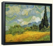 Cypresses-Canvas Art Print