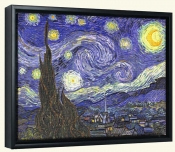 Starry Night-Canvas Art Print