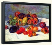 Still life with Tropical Fruit-Canvas Art Print