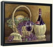 Chianti with Goodies-TK-Canvas Art Print