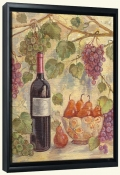 TK-Wine with Pears-Canvas Art Print