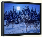 The Howling-RD-Canvas Art Print