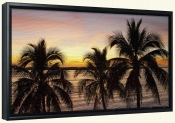 Sunset Palm-SA-Canvas Art Print