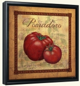 LC-Tuscan Tomatoes Distressed-Canvas Art Print