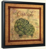LC-Tuscan Artichoke Distressed-Canvas Art Print