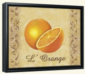 LC-The Oranges-Canvas Art Print