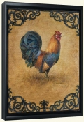 Rustic Rooster-LSH-Canvas Art Print