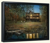 Lakeside Retreat-JH-Canvas Art Print
