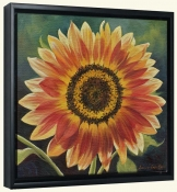 Orange Burst Sunflower  LSH-Canvas Art Print