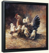 Mother Hen-LSH-Canvas Art Print